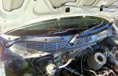 Reparar el motor del limpiaparabrisas de un Honda civic 99