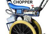 Uno mismo-equilibrio Raleigh Chopper inspirado vespa eléctrica