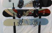 Scenic Snowboard Metal Rack