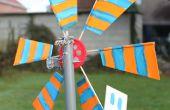 Masiva producción de LED alimentación de turbinas de viento en un taller de niños