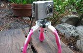 Muy Cool Mini afeitadora desechable Tri-pod para tu cámara!