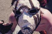 Cómo hacer una máscara de Psycho de Borderlands: