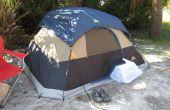 Ruggedizing y un aire acondicionado de ventana para tienda camping a prueba de error