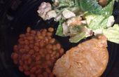 Chuletas de cerdo del BBQ rápida de fácil y barato!!!!!!