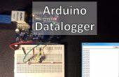 Arduino-Datalogger con Sensor de temperatura y fotorresistencia