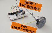 Velocidad de controladores para Robots baratos, parte 1: codificadores de eje