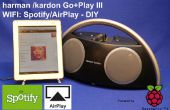 Spotify y Boombox de Airplay de un HK Go + Play II