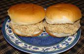 Sándwiches de pollo rápido y fácil