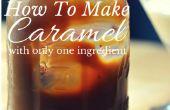 Cómo hacer caramelo con solo un ingrediente