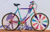 Bicicleta de hilado - bomba!