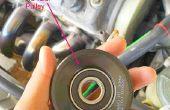 Reemplazar polea tensora de AC en mi Honda Civic 1999