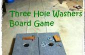 Construir A tres hoyos arandelas juego de mesa