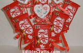 Kit Kat y corazón Candy Bouquet