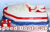 Cómo hacer un pastel de barco de velocidad