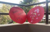 Tarjeta de amor día de San Valentín