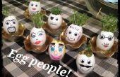 Gente de huevos con pelo!