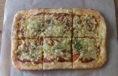 Super Fast Pizza desde cero - no mezclador y fácil receta limpia