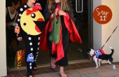 Pasos para la señora Pacman Costume