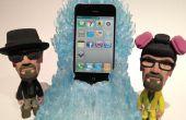 El trono de la Meth azul carga dock para iphone / Android