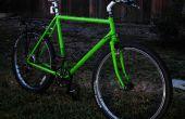 Marco de la bici del trazador de líneas de cama