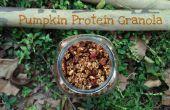 Calabaza de proteína de Granola