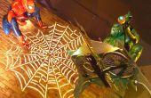 Tamaño pantalla de Halloween temática de Spider-Man