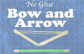 Pegamento no arco y flecha