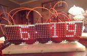 Reloj de matriz de LED Arduino