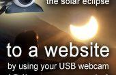 Cómo transmitir el eclipse solar a un sitio web con una webcam USB (código de C#) 20 de marzo de 2015
