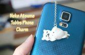 Tutorial: DIY Neko Atsume teléfono encanto - arcilla polimérica