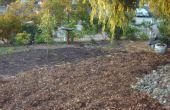 Sequía tolerante frente patio - conversión de césped al suelo