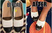 Casquillo del dedo del pie zapatos Cat zapatos