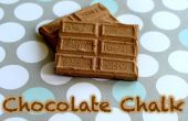 DIY tiza Chocolate
