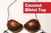 Parte superior del Bikini de coco