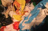 Cómo doblar una bolsa de plástico