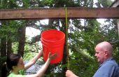 Desafío del cubo de hielo de Rube Goldberg-estilo 9-paso