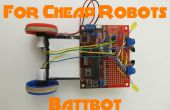 Más chasis para Robots baratos 1: Battbot