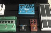 Guitarra Pedal Board