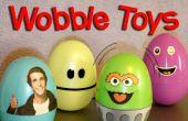 Hacer tu propio huevo Weeble bamboleo juguetes