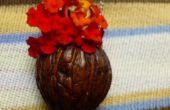 Mini flor Maceta colgante /Bug anillo.