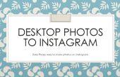 Descargar fotos desde el escritorio en Instagram