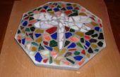 Mosaico paso a paso piedras de su jardín