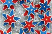 Iluminado de estrellas galletas!