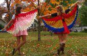 Aves de NattyJane de una pluma traje Tutorial