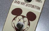 DIY rata clon guitarra efectos Pedal de distorsión - la rata muerta
