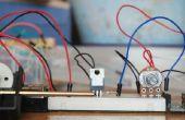 Potenciómetro de control de velocidad del motor DC de Arduino