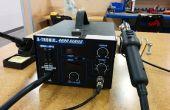 Recuperación/reparación electrónica con reflujo estación