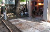Cómo hacer un patio de cemento agradable