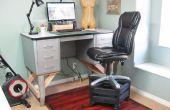 Silla alta para un escritorio de pie