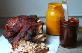 Sacó la receta de carne de cerdo